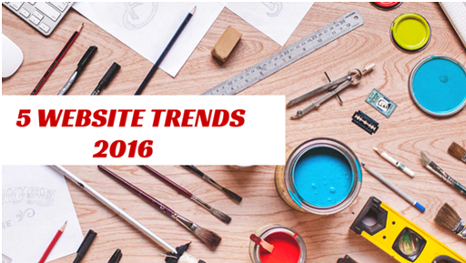 5 Website Trends